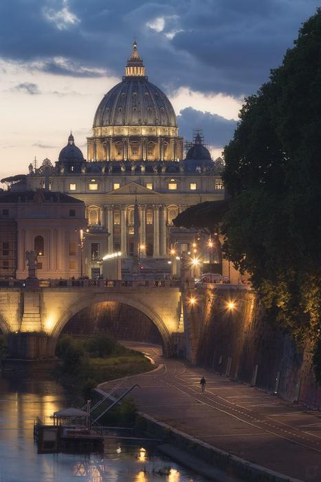 Voyage Rome Paris par Emanuele Serraino
