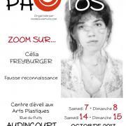 Affiche de l'exposition Zoom sur Célia Freyburger