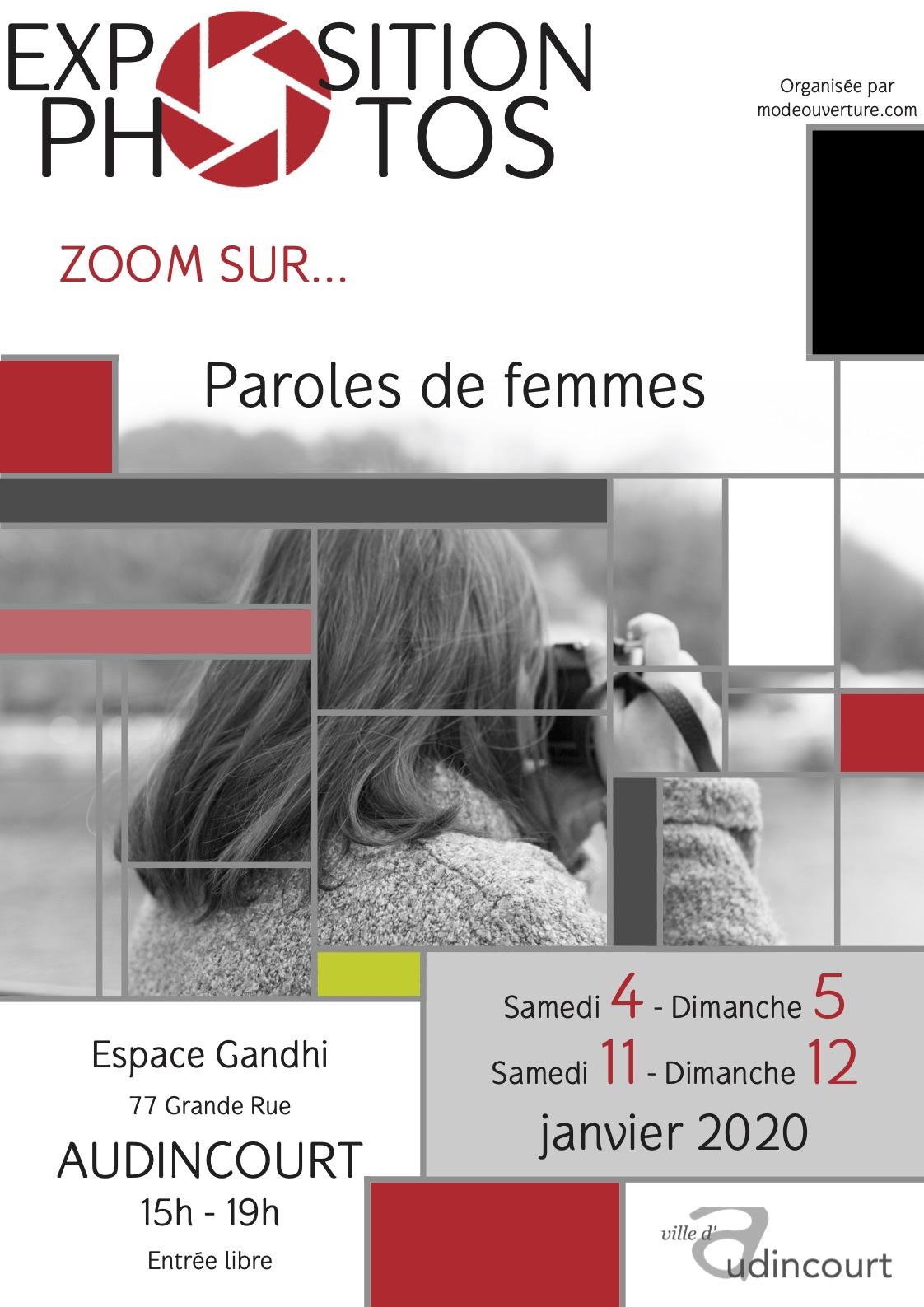 Zoom sur Paroles de femmes (janvier 2020)