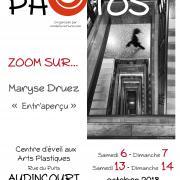 affiche-octobre2018-Maryse Druez