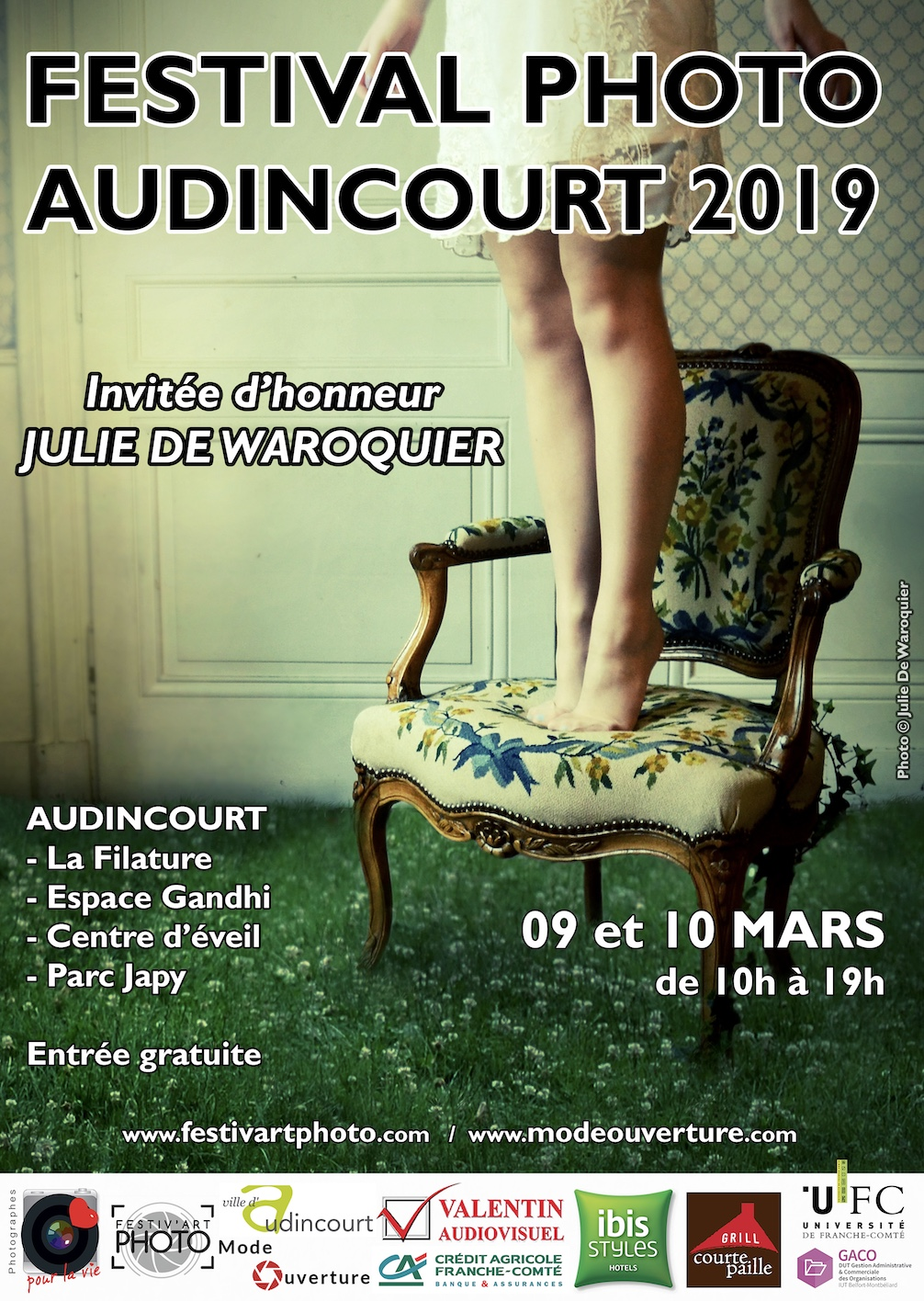 Affiche Festival Photo d'Audincourt