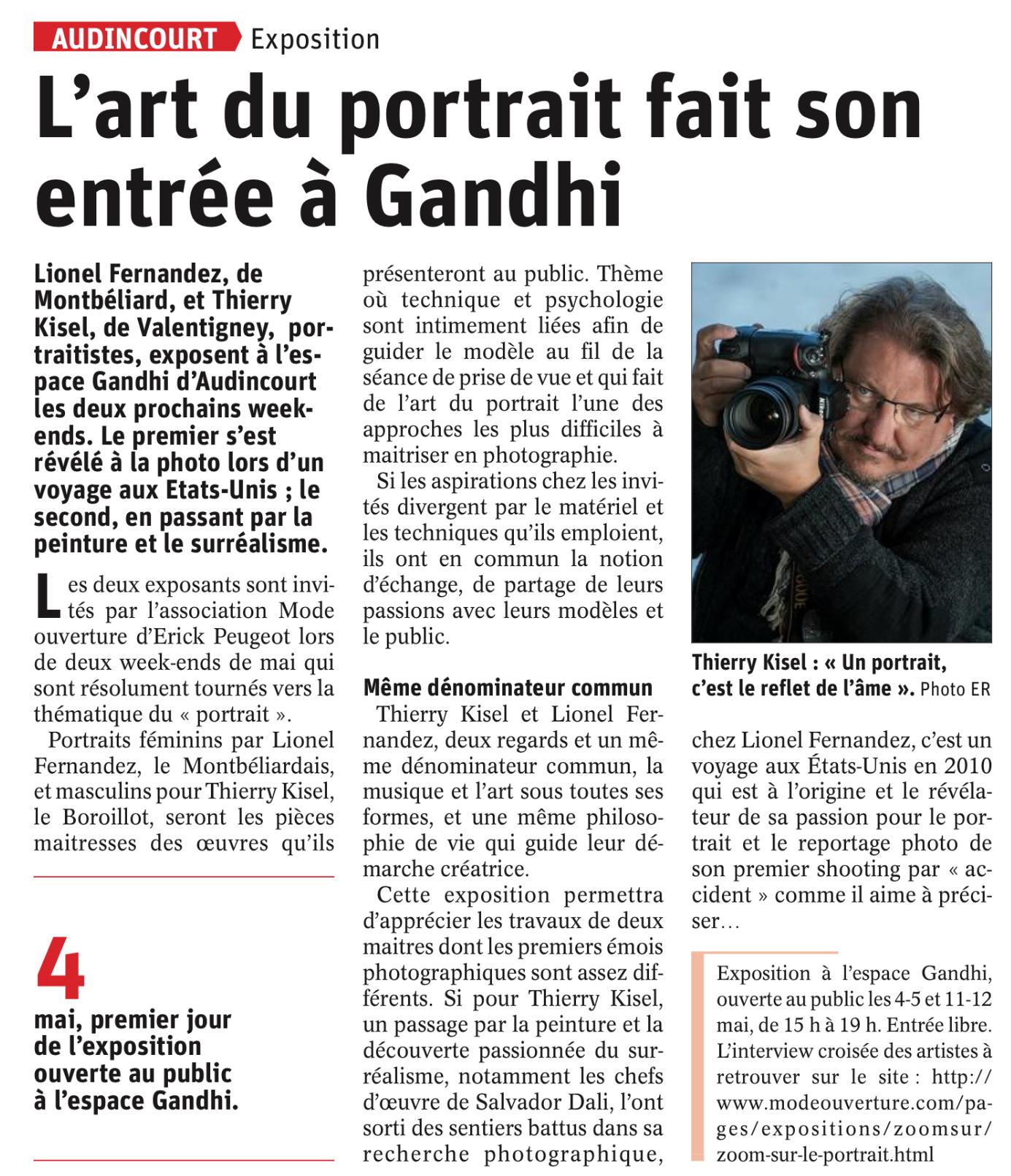 L'Est Républicain, le 03/05/2019