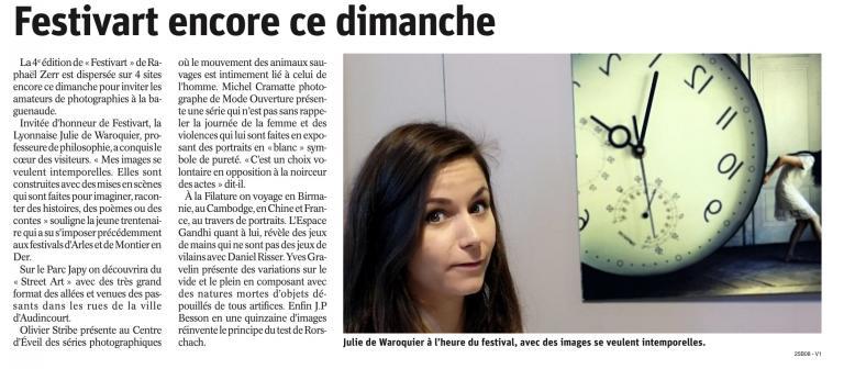 L'Est Républicain, le 10/03/2019