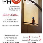 Affiche de l'exposition Zoom sur Frederique Krommenacker
